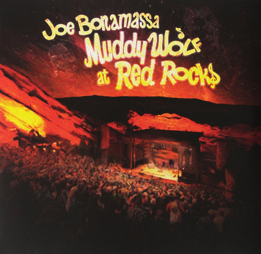 JOE BONAMASSA MUDDY WOLF AT RED S TRIPLE LP VINYL NEW 33RPM 2015