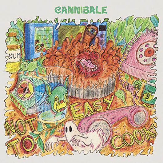 Cannibale Not Easy To Cook Vinyl LP New 2018