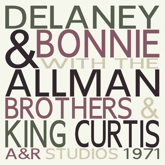 DELANEY & BONNIE WITH THE ALLMAN BROTHERS A&R Studios 1971 LP Vinyl NEW
