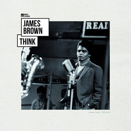 James Brown Think Vinyl LP New 2018