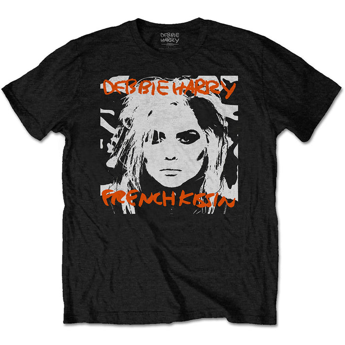 Debbie Harry French Kissin' Black Large Unisex T-Shirt