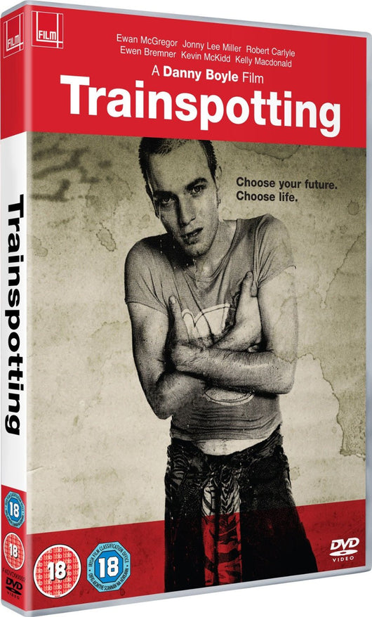Trainspotting DVD NEW Ewan McGregor Danny Boyle