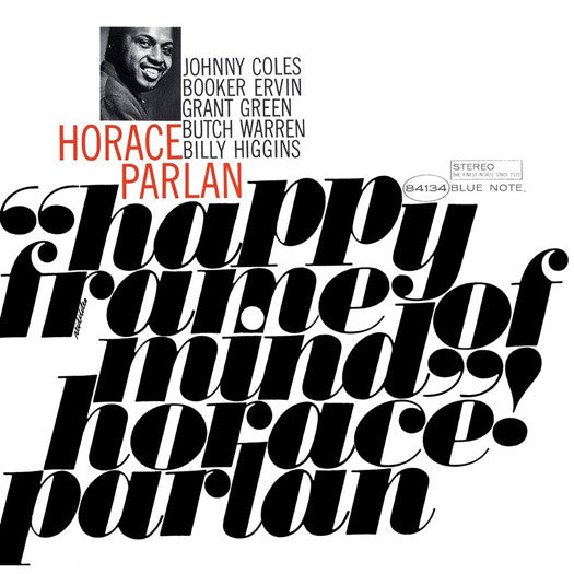 HORACE PARLAN HAPPY FRAME OF MIND LP VINYL 33RPM NEW 2013