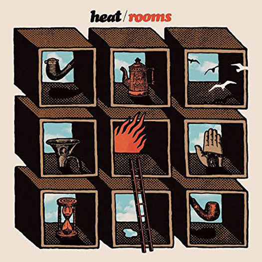 HEAT ROOMS LP VINYL NEW (US) 33RPM