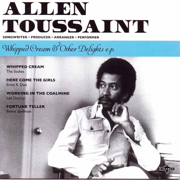 "ALLEN TOUSSAINT Whipped cream & other delights 7"" Single Vinyl NEW RSD 2016"