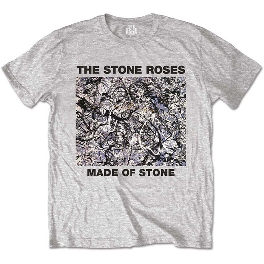 STONE ROSES Made of Stone MENS Grey SIZE MEDIUM T-SHIRT NEW