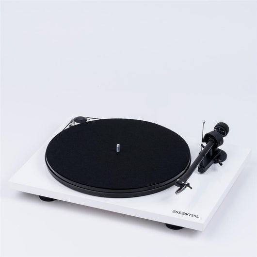 Pro-Ject Essential III Phono White Turntable