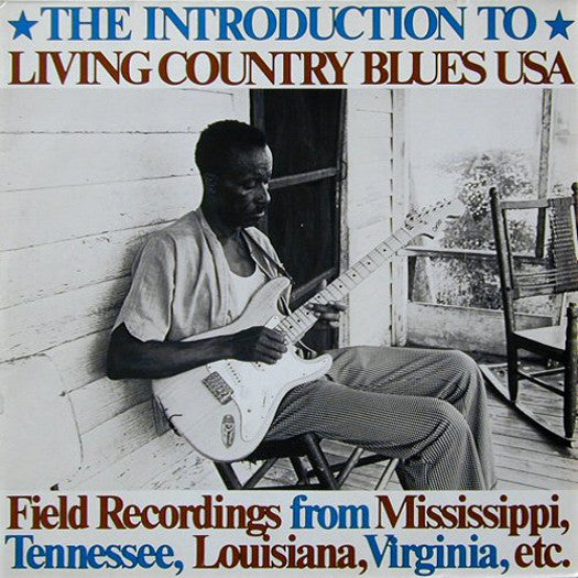 INTRODUCTION TO LIVING COUNTRY BLUES USA LP VINYL NEW 33RPM