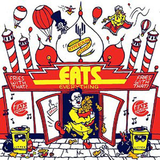EATS EVERYTHING FRIES WITH THAT 12 INCH VINYL SINGLE NEW 45RPM