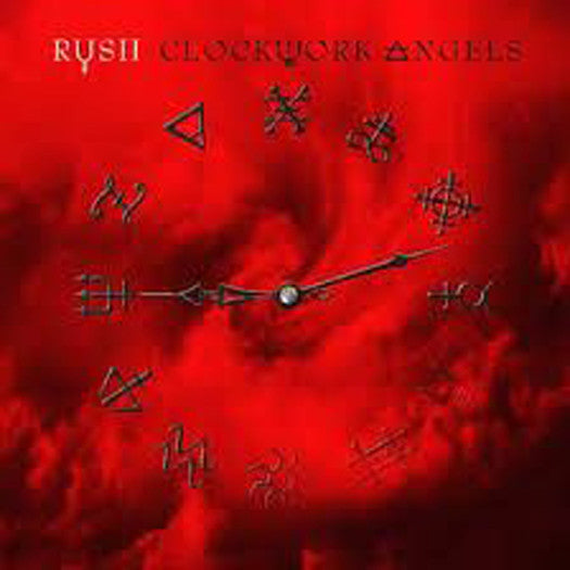 RUSH CLOCKWORK ANGELS DOUBLE LP VINYL 33RPM NEW