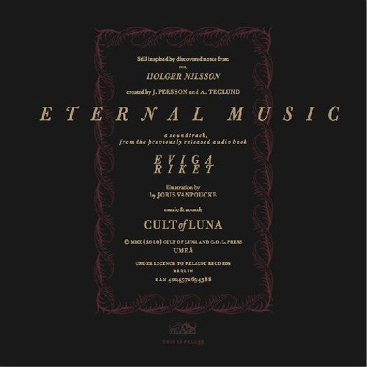 CULT OF LUNA ETERNAL MUSIC (UK) LP VINYL NEW (US) 33RPM