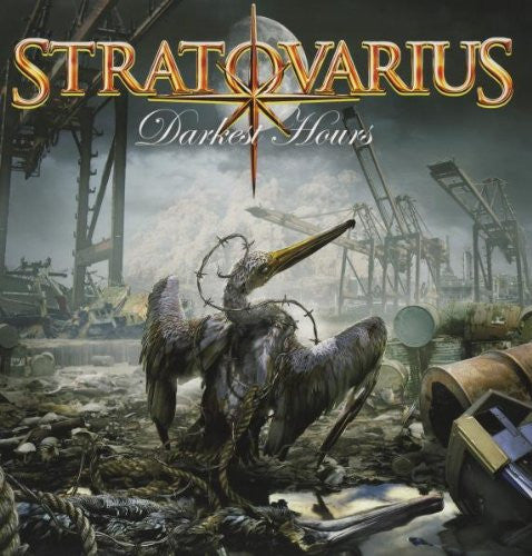 STRATOVARIUS DARKEST HOURS VINYL SINGLE NEW 33RPM SEALED