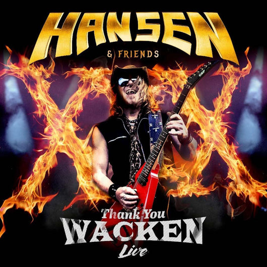 KAI HANSEN & FRIENDS Thank You Wacken (Live) 2LP Vinyl NEW 2017