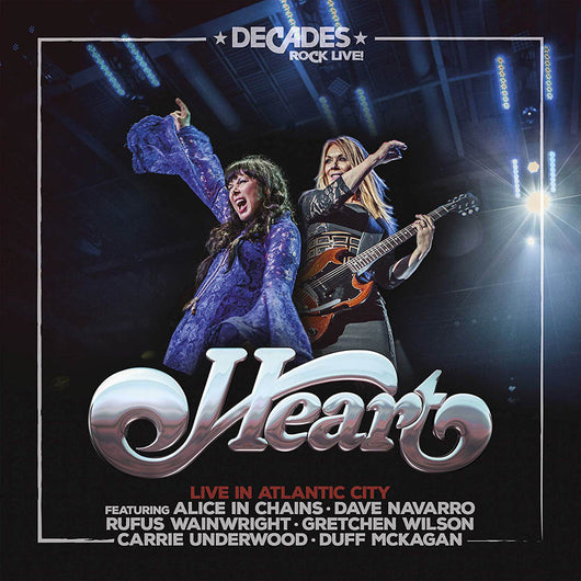 Heart Live in Atlantic City Double Vinyl LP New 2019