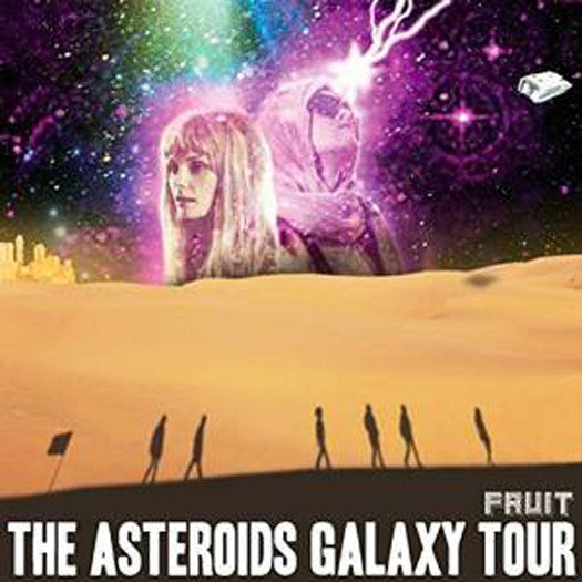 ASTEROIDS GALAXY TOUR FRUIT LP VINYL NEW 33RPM