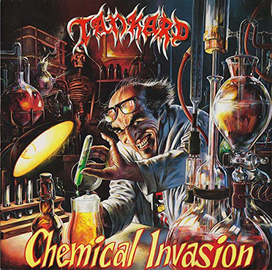 TANKARD Chemical Invasion LP Green/Yellow Swirl Vinyl NEW PRE ORDER 24/11