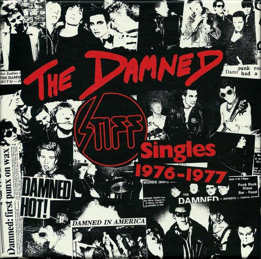 THE DAMNED The Stiff Singles 76-77 5 7