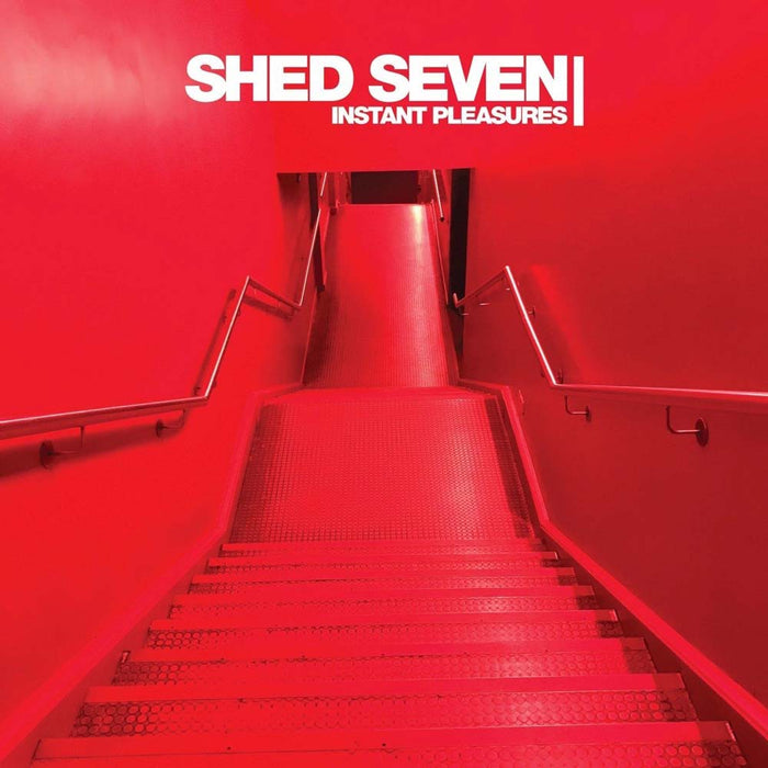 SHED SEVEN Instant Pleasures LP Red Vinyl NEW 2017