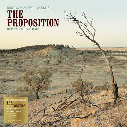 Nick Cave & Warren Ellis - The Proposition Soundtrack Vinyl LP Gold New 2018
