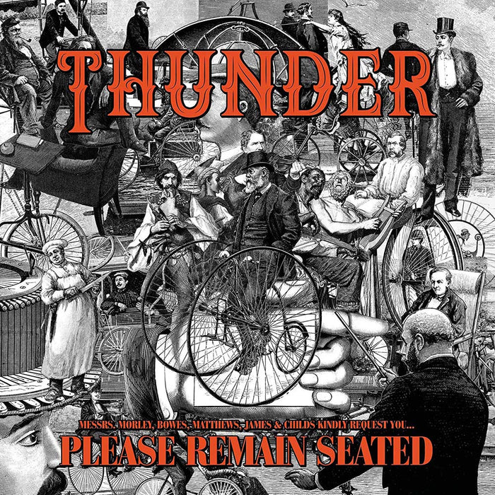 Thunder Please Remain Seated Vinyl LP 2019