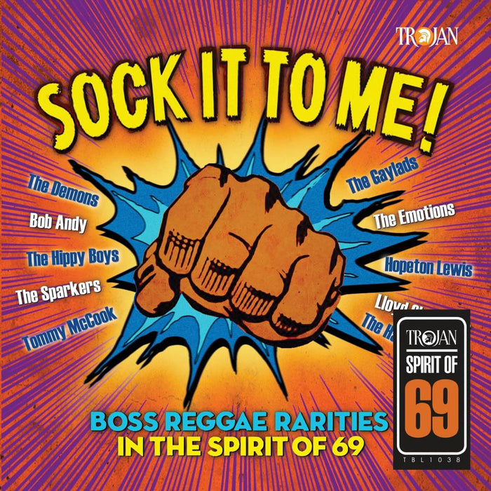 Sock It To Me Boss Reggae Rarities in the Spirit of 69 Vinyl LP New 2019