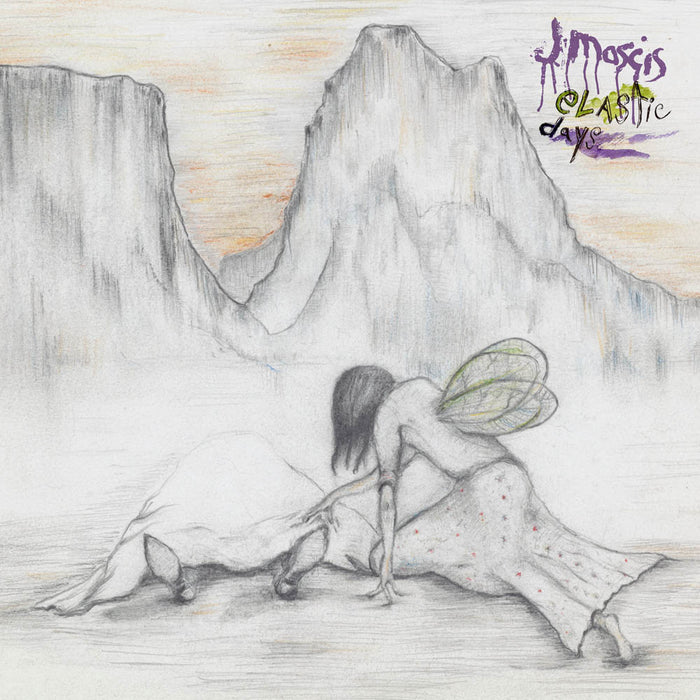 J Mascis Elastic Days Purple Vinyl LP 2018