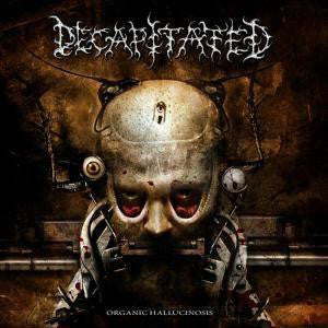 DECAPITATED TO ORGANIC HALLUCINOSIS [2006] DEATH LP VINYL NEW 33RPM