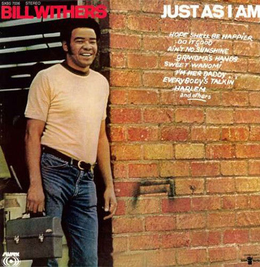 BILL WITHERS JUST AS I AM LP VINYL NEW (US) 33RPM 2007