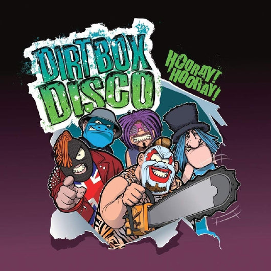 Dirt Box Disco Hooray! Hooray! Vinyl LP New Pre Order 19/10/18