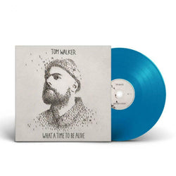 Tom Walker What A Time To Be Alive Indies Blue Vinyl LP New 2019