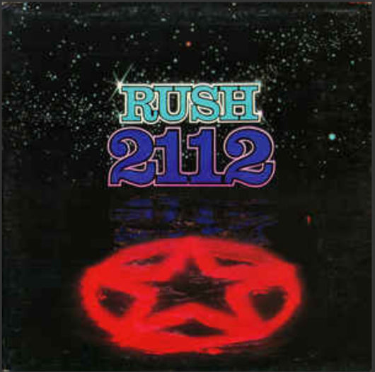 Rush - 2112 Vinyl LP Limited Opaque Blue Hologram Edition New 2018