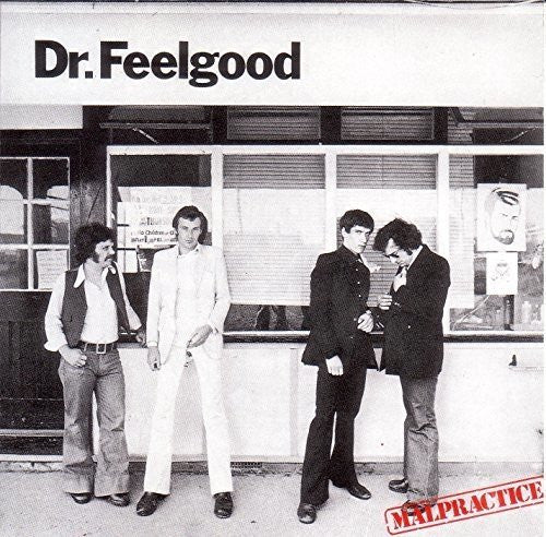 DR FEELGOOD Malpractice LP Vinyl NEW Limited Edition RED