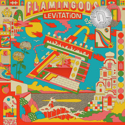 Flamingods Levitation LP Vinyl Ltd Dinked Edition #8