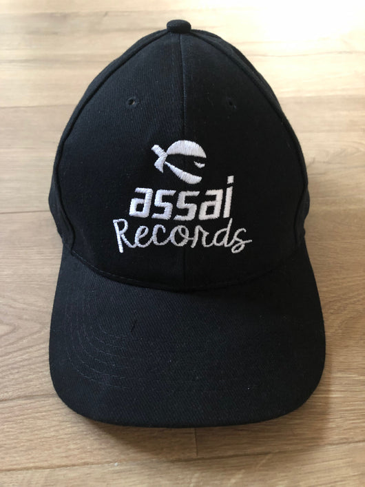 Assai Records Black Baseball Cap NEW 2019
