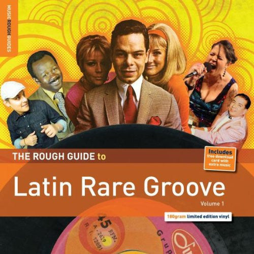 ROUGH GUIDE LATIN RARE GROOVE LP VINYL NEW 33RPM