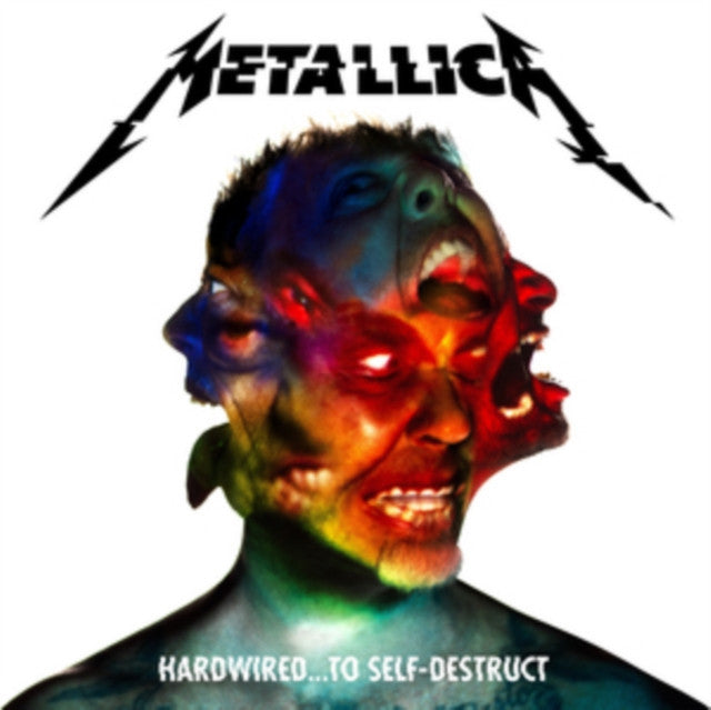 METALLICA Hardwired to Self Destruct LP vinyl & CD set NEW 2016
