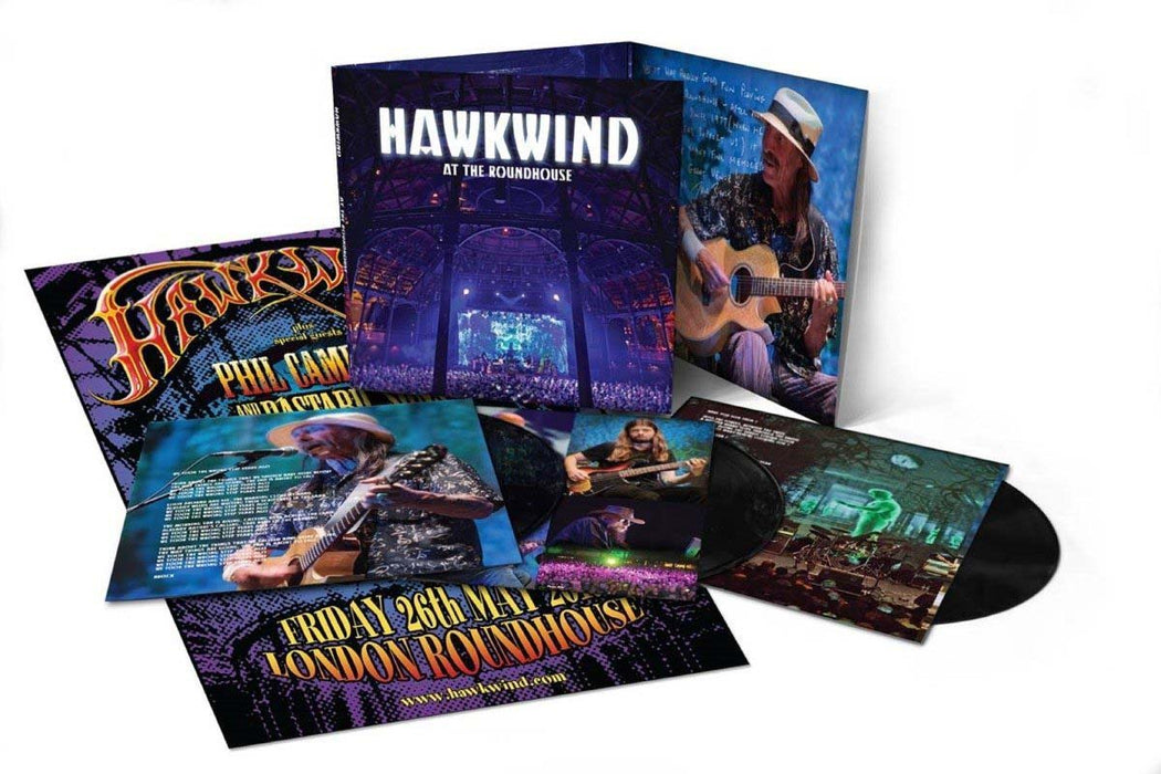 HAWKWIND At The Roundhouse 3LP Vinyl Box-Set NEW 2018