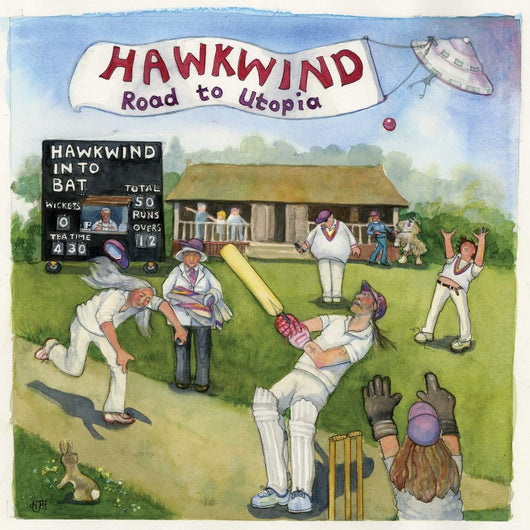 Hawkwind Road to Utopia Limited Edition Vinyl LP New 2018