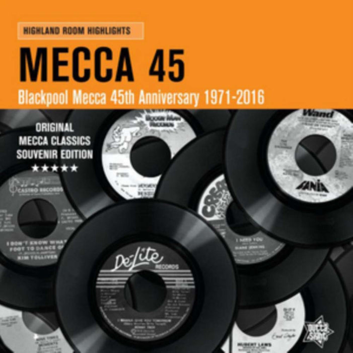 MECCA 45 Northern Soul LP Vinyl NEW