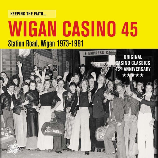 Keeping The Faith Wigan Casino 45 Vinyl LP New 2018