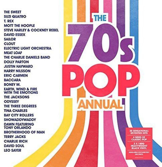 70s Pop Annual 2LP Vinyl Compilation NEW 2017