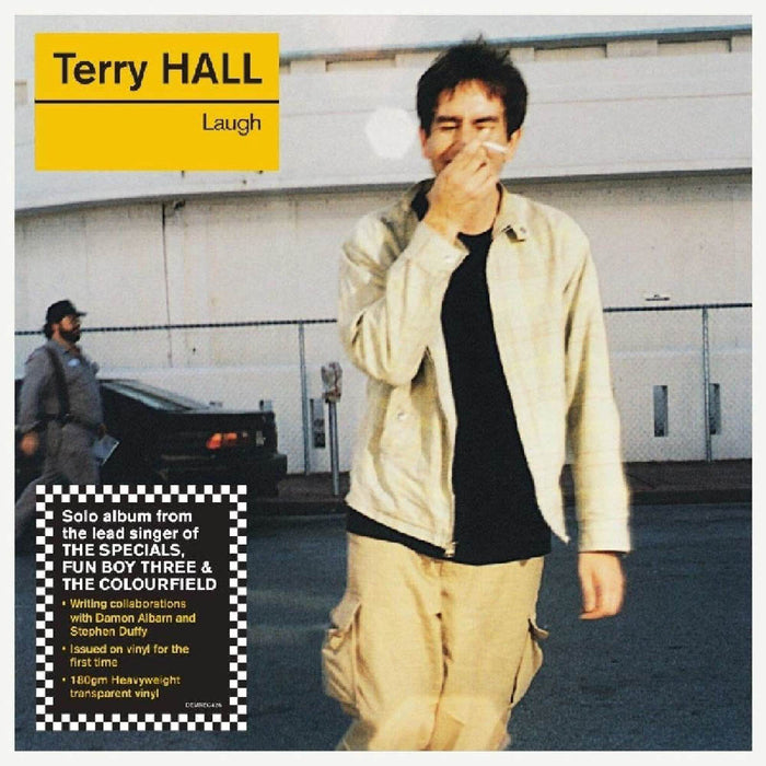 Terry Hall Laugh Vinyl LP Clear Colour 2019
