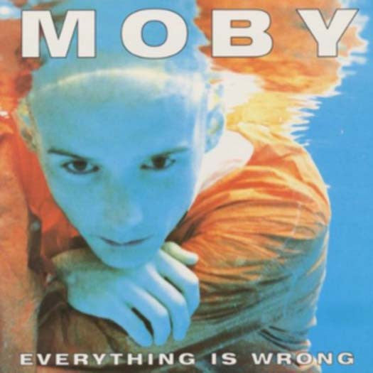 MOBY EVERYTHING IS WRONG REISSUE LP VINYL NEW