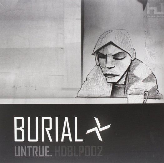 BURIAL UNTRUE LP VINYL NEW (US) 33RPM