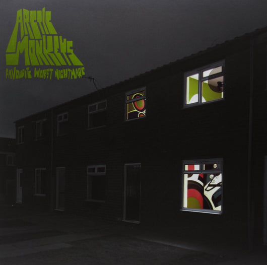 ARCTIC MONKEYS FAVOURITE WORST NIGHTMARE LP VINYL 33RPM NEW