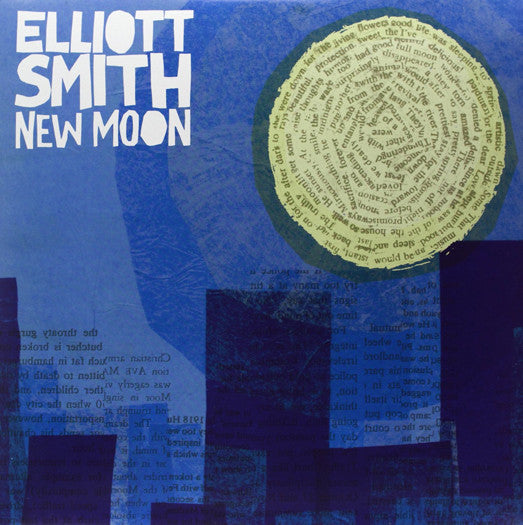ELLIOT SMITH NEW MOON DOUBLE LP VINYL 33RPM NEW 2007