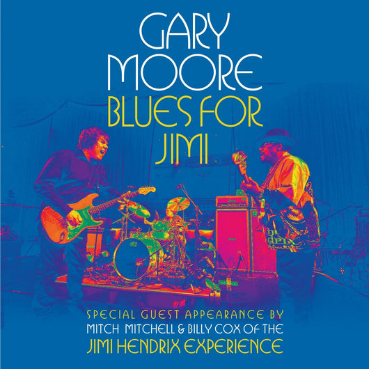 GARY MOORE BLUES FOR JIMI LP VINYL 33RPM NEW