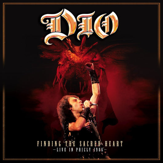 DIO FINDING THE SACRED HEART LIV LP VINYL 33RPM NEW