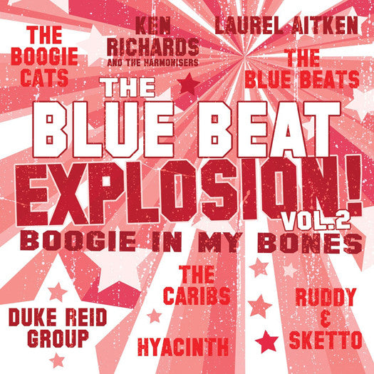 BLUE BEAT EXPLOSION LP VINYL 33RPM NEW 2013
