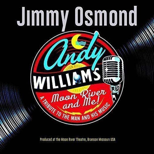 JIMMY OSMOND MOON RIVER & ME LP VINYL NEW